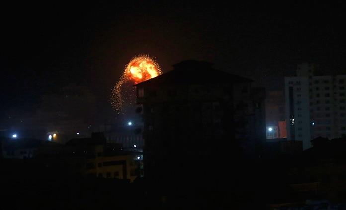 Intensa escalada de tensión entre Gaza e Israel parece disminuir con rapidez