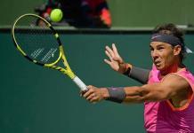"""Rafael Nadal avanza a """"semis"""" de Indian Wells y se cita con Roger Federer"""