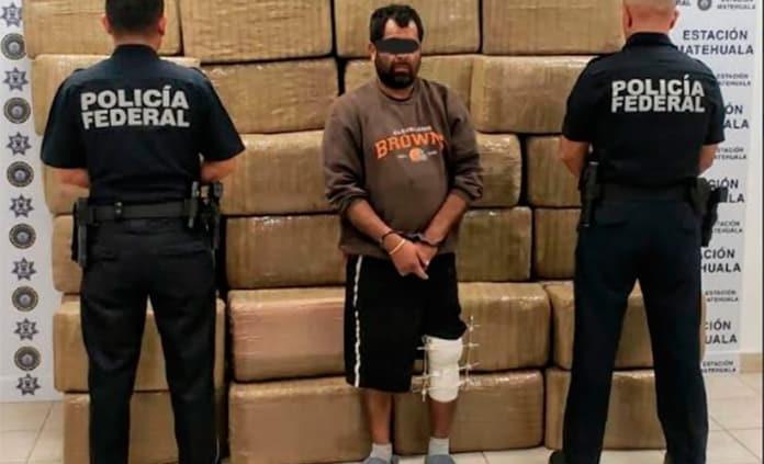 Federales aseguran más de media tonelada de marihuana en el Altiplano