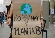 Pocas decenas de personas se unen a marcha contra cambio climático en México