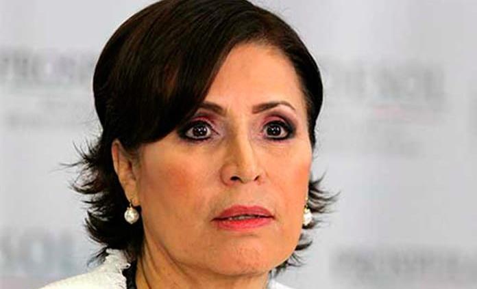 Todo yo, todo yo, revira Rosario Robles ante señalamientos
