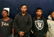 Cuatro hombres detenidos por robo a empresa en la colonia Del Llano