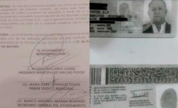 Presenta Aranda denuncia penal por falsificación de su firma en contratos gallardistas