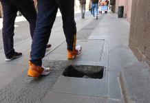 Desaparecen tapas de pozos de visita en Álvaro Obregón