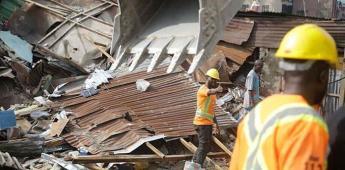 Asciende a 20 el número de muertos en el derrumbe de escuela en Nigeria
