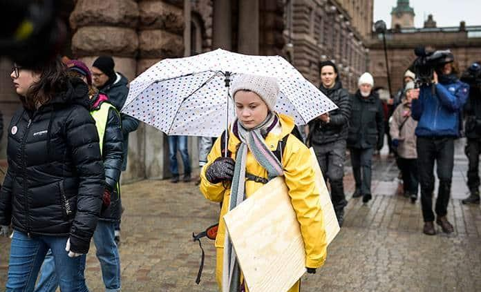 Greta Thunberg, la joven sueca convertida en icono contra el cambio climático