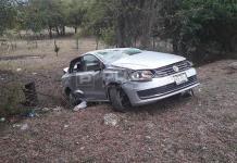 Tres lesionados en volcadura en la Valles-Rioverde