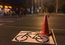 Estudiantes del Hábitat realizan urbanismo táctico en calles aledañas a Derecho