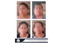 Detienen a familia acusada de agredir a una pareja de la tercera edad