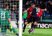 Cagliari vence por 2-1 a Fiorentina y se aleja del descenso