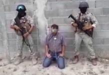 Grupo armado presenta en video a regidor secuestrado
