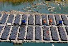 Isla flotante da vida a desechos de la minería