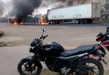 Quemas, bloqueos y tiroteos en Veracruz