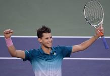 Thiem gana a Federer y conquista Indian Wells