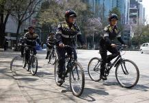 Vigilan Reforma en dos ruedas