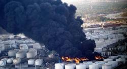 Arde petroquímica en Texas