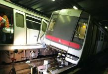 Trenes de metro de Hong Kong chocan durante prueba de sistema de señales