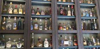 Casa de México en España Expone botellas de tequila del récord Guinness