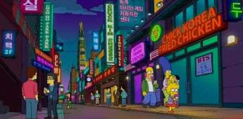 Los Simpson incluyen cartel de BTS en un episodio