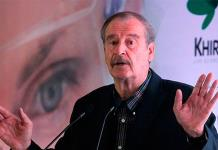 Bravo machín misógino, dice Vicente Fox a Noroña por no disculparse
