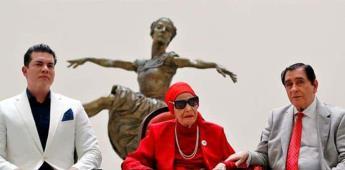 La icónica bailarina Alicia Alonso recibe homenaje en Cuba