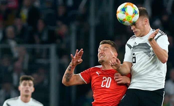 Alemania compartió ante Serbia en Wolfsburgo