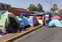 No vamos a dejar pasar a nadie, amaga la CNTE en San Lázaro
