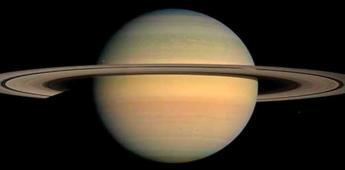 Antes de morir, la sonda Cassini dio información sobre los anillos de Saturno