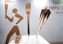 Presentan la antorcha olímpica Tokio 2020