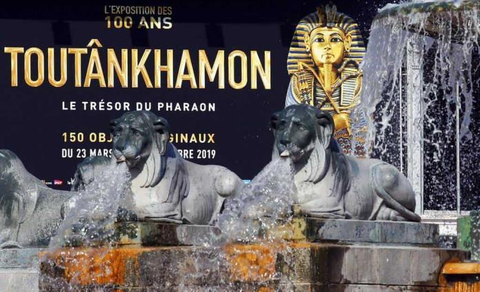 La exposición de Tutankamón bate el récord de visitantes en París