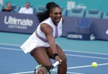 Serena Williams se retira de Miami con lesión de rodilla