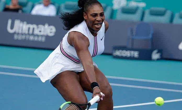Serena abandona el Miami Open por lesión