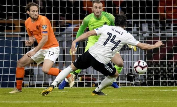 Alemania rescata victoria vs Holanda con gol de último minuto