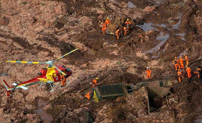 Elevan alerta en otra represa de Vale por peligro de rotura