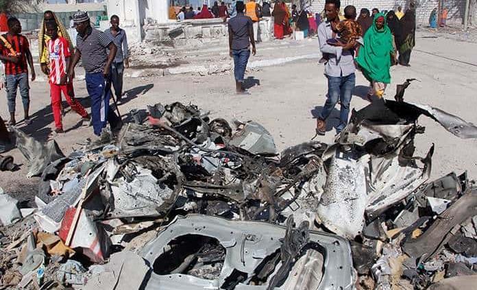Al menos 5 muertos en un doble atentado en Mogadiscio