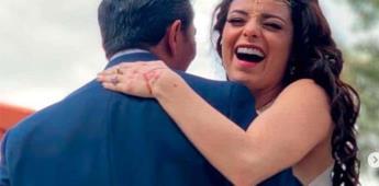 Violeta Isfel se casó con Raúl Bernal
