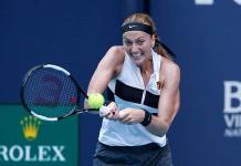 Kvitova avanza a cuartos del Abierto de Miami