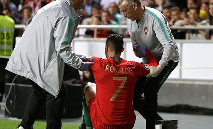 Juventus admite riesgo de que Cristiano no juegue ante el Ajax