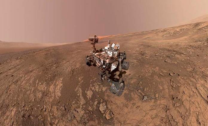 Curiosity recoge primera muestra de arcilla en Marte