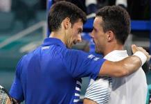 Bautista Agut elimina a Djokovic en 4ta ronda de Miami