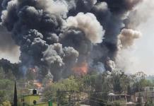 Explota pirotecnia en Chimalhuacán; no se reportan lesionados?