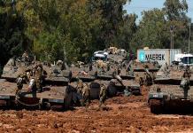 B. Netanyahu responderá a la violencia en Gaza