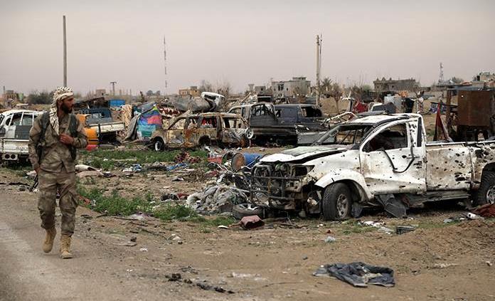 EI reivindica ataque en Siria