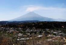 Volcán Popocatépetl emite ceniza; se mantiene en Amarillo Fase 2