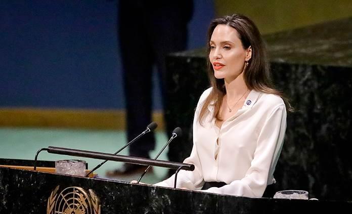 Angelina Jolie defiende en la ONU que no puede haber paz sin las mujeres