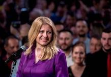 Caputova, presidenta electa de Eslovaquia