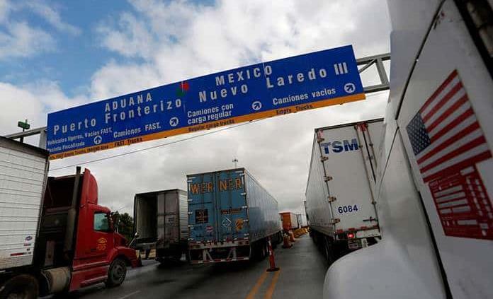 Resultado de imagen para camion frontera mexico