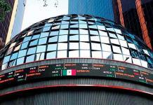 Bolsa Mexicana concluye jornada con marginal ganancia de 0.01 por ciento