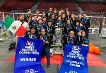 Equipo de robótica de SL suma otra victoria