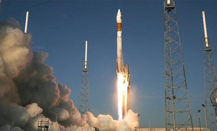 Despega cohete Soyuz desde Kazajstán a Estación Espacial Internacional